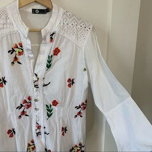 Made in Italy Cotton Tunic